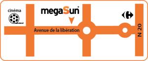Coordonnées et plan d'accès Megasun Etampes